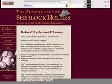 Holmes? A role model? Lesson Lesson Plan