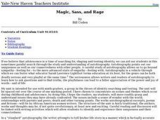 Magic, Sass, and Rage Lesson Plan