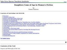 Daughters Come of Age in Women's Fiction Lesson Plan