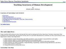 Teaching Awareness of Human Development Lesson Plan