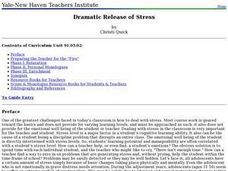 Dramatic Release of Stress Lesson Plan