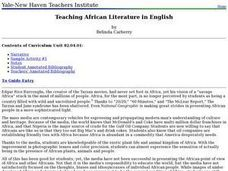 Teaching African Literature in English Lesson Plan