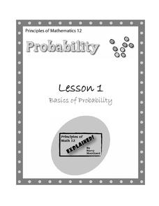 Basics of Probability Lesson Plan
