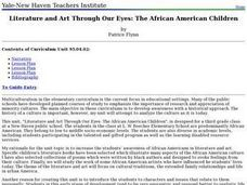 Literature and Art Through Our Eyes: African-American Artists Lesson Plan