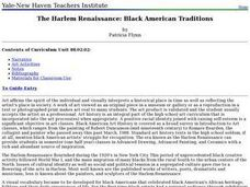 The Harlem Renaissance: Black American Traditions Lesson Plan