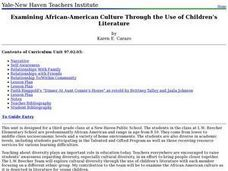 Children's Literature and African American Culture Lesson Plan