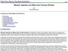 Mosaic America on Film: Fact Versus Fiction Lesson Plan