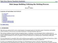 Male Image Building Utilizing the Writing Process Lesson Plan