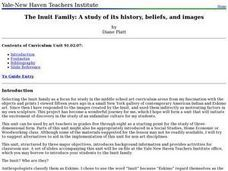 The Inuit Family: A study of its history, beliefs, and images Lesson Plan