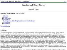 Gazebos and Other Worlds Lesson Plan