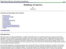 Buildings of America Lesson Plan