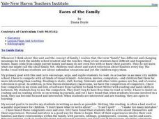 Faces of the Family Lesson Plan