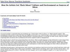 How Do Artists Get Their Ideas? Culture and Environment as Sources of Ideas Lesson Plan