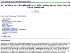 In the Footprints of Lewis and Clark: 19th Century Artists -- Depictions of Native Americans Lesson Plan
