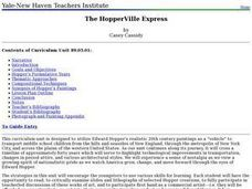 The HopperVille Express Lesson Plan