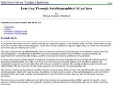 Learning Through Autobiographical Situations Lesson Plan