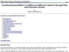 Teaching Responsibility to Children in Different Cultures through Film and Literature Stories Lesson Plan