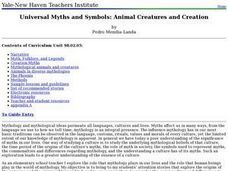 Universal Myths and Symbols: Animal Creatures and Creation Lesson Plan