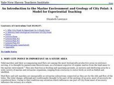 An Introduction to the Marine Environment and Geology of City Point: A Model for Experiential Teaching Lesson Plan
