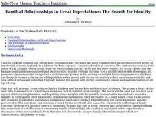 Familial Relationships in Great Expectations: The Search for Identity Lesson Plan