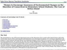 Themes to Encourage Awareness of Environmental Changes on the Shoreline of Connecticut in Elementary School Students: The Case of Kelsey Island Lesson Plan