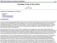 Teaching A Tale of Two Cities Lesson Plan