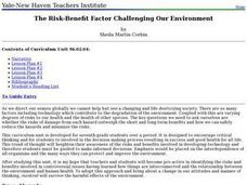 The Risk-Benefit Factor Challenging Our Environment Lesson Plan