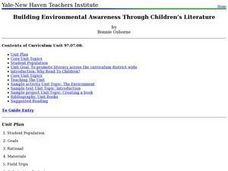 Environmental Awareness and Children's Literature Lesson Plan