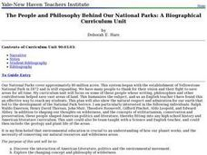 The People and Philosophy Behind Our National Parks: A Biographical Curriculum Unit Lesson Plan