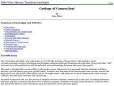 Geology of Connecticut Lesson Plan