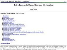 Introduction to Magnetism and Electronics Lesson Plan