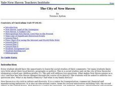 The City of New Haven Lesson Plan
