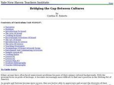 Social Studies: Bridging the Gap Between Cultures Lesson Plan