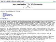 Social Studies: The Connecticut Hill Community Lesson Plan