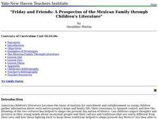 Friday and Friends: A Prospectus of the Mexican Family through Children's Literature Lesson Plan