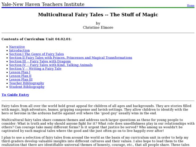 multicultural fairy tales the stuff of magic lesson plan for 3rd grade lesson planet. Black Bedroom Furniture Sets. Home Design Ideas