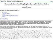 Sherlock Holmes: Teaching English Through Detective Fiction Lesson Plan