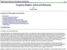 Langston Hughes: Artist and Historian Lesson Plan