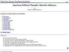 American Political Thought: Minority Influence Lesson Plan