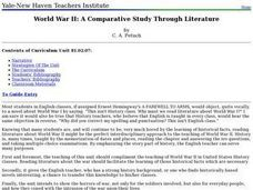 World War II: A Compartive Study through Literature Lesson Plan