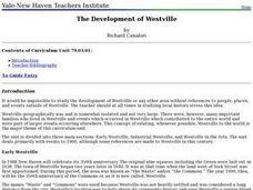 Social Studies: Westville Through the Years Lesson Plan