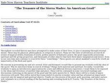 The Treasure of the Sierra Madre: An American Grail? Lesson Plan