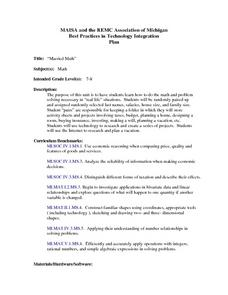 Married Math Lesson Plan