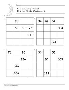 Be a Counting Wizard! Worksheet