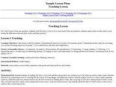 Tracking Lesson Plan