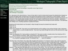 Michigan Geology Lesson Plan