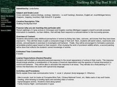 Stalking the Big Bad Wolf Lesson Plan