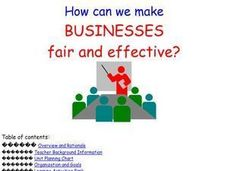How Can We Make Businesses Safe And Effective? Lesson Plan