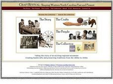 Craft Revival: Shaping Western North Carolina Past and Present Lesson Plan