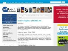 An Investigation of Public Art Lesson Plan
